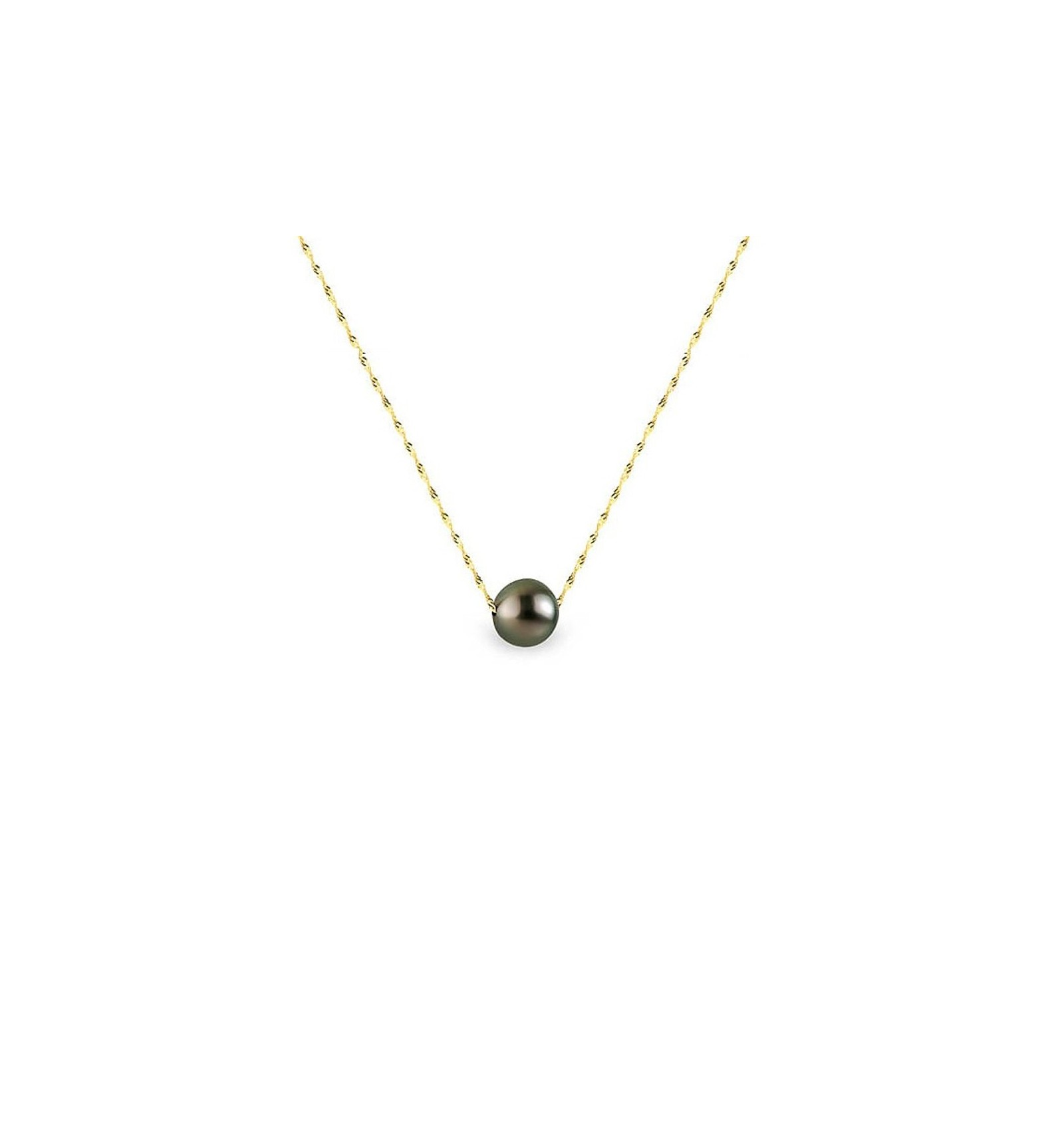 collier femme chaine or